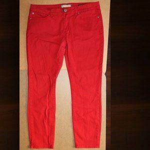 Kardashian Kollection Kourtney Red Jeans w34x27